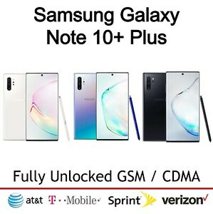 New Other Samsung Galaxy Note 10+ Plus | 256GB All Colors- 9/10 Fully Unlocked
