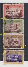 Romania 1955,Animal farming, moved images,used