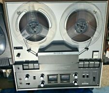 Sony Tc-440 Reel To Reel with Dust Cover and manual