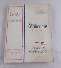1974 - 1976 Cessna Stationair Parts Manual Catalog