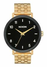 Nixon Arrow Watch (Gold / Black / White)