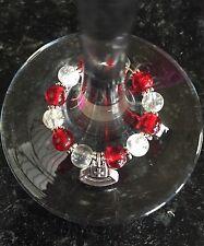 Handmade Nurse Wine Glass Charm, Gift, Present