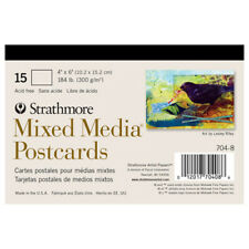 Strathmore / Pacon Papers 7048 Mixed Media 15 Pack Postcard 4X6