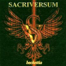 beckettia SACRIVERSUM CD ( FREE SHIPPING)
