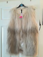 Two Tone Fur Gillet Brand New With Tags
