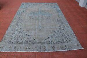 Aztec Rug, Oushak Rug, Anatolian Turkish Rugs, Vintage  Rug, Tapis Berber, Vinta
