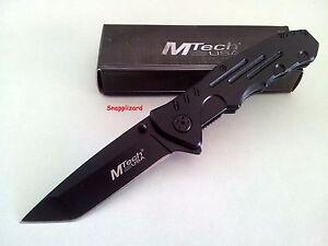 "MTech USA 4.5"" Tactical Tanto Folding Pocket Knife MT-378 EDC Knife"