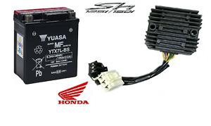 Batterie yuasa / YTX7L-BS Set / Régulateur Honda Sh 125 150 2005 2012 Scooter
