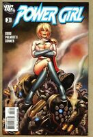 Power Girl #3-2009 nm- 9.2 Standard Cover Amanda Conner Justice Society