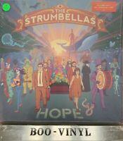 "THE STRUMBELLAS - HOPE * 12"" VINYL RECORD * BLUE COLOURED VINYL NR MINT!!"