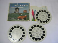 Sawyer's Holland Vintage Viewmaster reels and Cover T*
