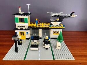 VINTAGE LEGO #381 POLICE STATION COMPLETE WITH INSTRUCTIONS 1979