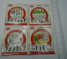 Model Power Passenger Pewople HO Scale Lot of 4 #5702, 5705, 5708, 5709 NIB *62