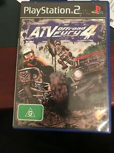 ATV Offroad Fury 4 PS2 Game USED