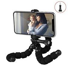 Fotopro RM 95 Mini Trépied Flexible avec Support pour Smartphone Noir