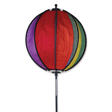 Large Staked Rainbow Spinner Ball Pr 25412