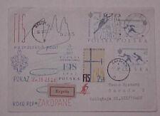 POLAND  GLIDER LOCAL POST 1962 EXPRESS