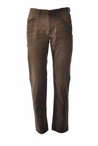 Pantaloni marroni da uomo Jeckerson Bull Disponibile Tg 31,34,40