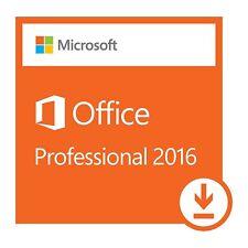 Microsoft Office Professional 2016 Lifetime Key Genuine - 1 PCs Install