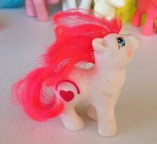 My Little Pony Red Rainbow Twin Baby Pony MLP Vintage 1986 Valentines Mail Away