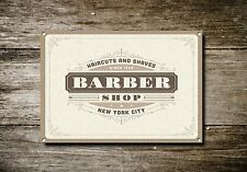 Barber Shop Sign, Metal Sign, Barber Shop Signs, Vintage Style, Barber Shop, 719