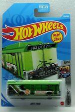 2021 Hot Wheels #155 Green Bus Aint Fare H Case HW Metro HTF