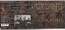 Otep - Jihad [EP] [PA]  (CD, Jun-2001, Capitol) DIGIPAK METAL ROCK
