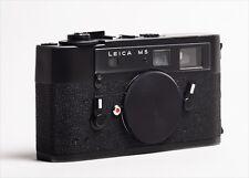 New Listing�Near Mint】 Leica M5 Black Rangefinder Film Camera Body Only