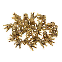 30pcs Dreadlock Braid Crown Cuffs Hair Beads Jewelry Rings Clips Dread Tubes