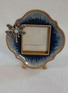 Jay Strongwater Picture Frame/ Mini Dragonfly