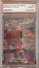 1995 Flair Hot Numbers #4 Michael Jordan PSA 9 Low PSA Pop Count