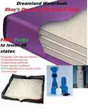 FACTORY DIRECT SPECIAL-QUEEN Boyd 80% Waveless Waterbed Mattress & StandUp Liner