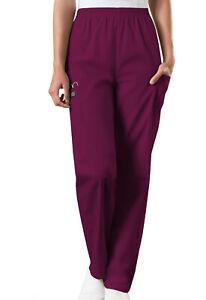 Cherokee Workwear PETITE Women's Nurse Scrub Pants  Style 4200 ~NEW~ Free Ship