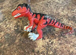 "Diablo 6"" Primal Rage Red Dinosaur Action Figure 1994 Atari Games 1996 Playmates"