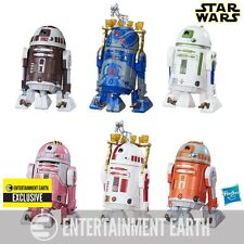 Star Wars Astromech Droid 6 Pack Entertainment Earth Exclusive NEW