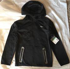 Everlast Boys Tech Fleece Full Zip Black Onyx Jacket Size M(10/12)