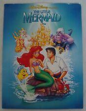 Walt Disney THE LITTLE MERMAID video store sales folder