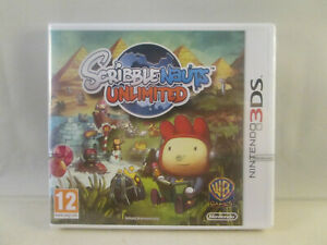 Nintendo 3DS - Scribblenauts Unlimited NEW SEALED
