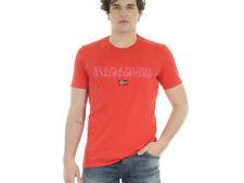 Magliette da uomo rosso taglia XXL Napapijri
