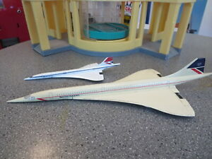 Lot of 2 air France Concord Aircraft Diecast