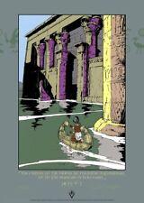 Affiche Sérigraphie Héritiers du Soleil (Les) Le Nil Pythagore (Le)