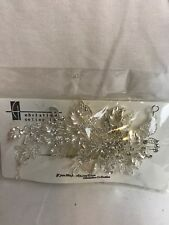 Christina Collection Bridal Rhinestone Crown Headband Jewelry