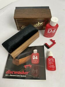 Discwasher D4 Record Care System Cleaning Kit Complete w/ Bonus Stylus Cleaner
