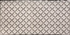 WC90 - Faux Tin PVC Kitchen Backsplash Roll Antique Silver (Glue Up) - DIY
