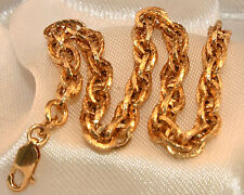 Chain Yellow Gold 10k Fine Bracelets