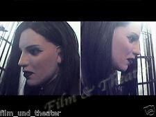 DARK LADY MASK + EYE LASHES -  Female Latex Mask Rubber Weibliche Maske, Rubber