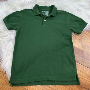 Old Navy Boys Youth Small Dark Green Short Sleeve Polo Style Shirt