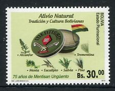Bolivien Bolivia 2012 Heilpflanzen Medicinal Plants Medizin 1913 Postfrisch MNH