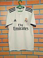 Real Madrid Jersey 2018 2019 Home SMALL Shirt Football Soccer Mens Adidas
