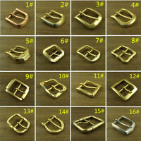 Solid Brass & Copper & Stainless Steel Belt Pin Buckles Mens/Women Belt Buckle
